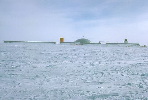 Pictures of Antarctic bases