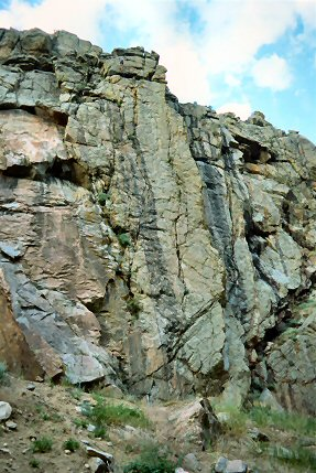 [NarrowsSlab.jpg] Slab of The Narrow, near Fort Collins.
