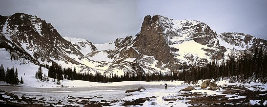Panorama of NotchTop, RMNP, Colorado, 2002