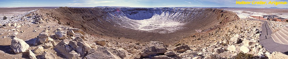 Panorama of Meteor Crater