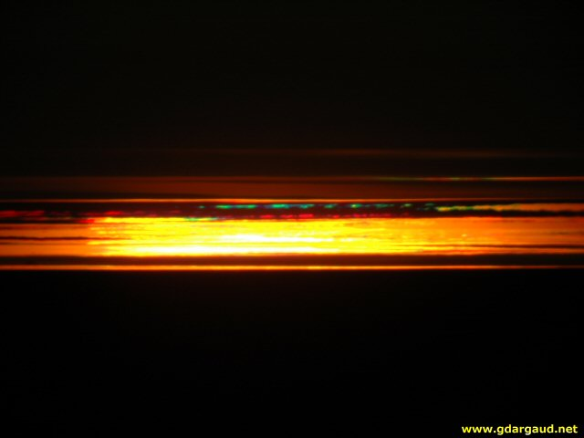 [GreenRay.jpg] The infamous and elusive green flash of the sun seen on the high polar plateau of Antarctica.