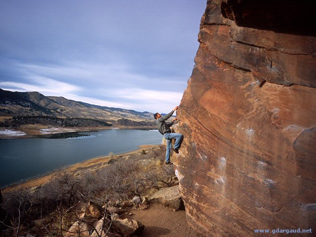 [LastRotary.jpg] Bouldering at the ROtary Park, Fort Collins.