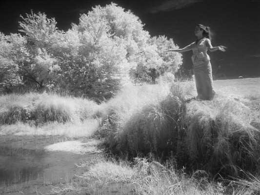 20080622 113140 infrared jpg morgan le fay invoking the waters of the mud puddle in