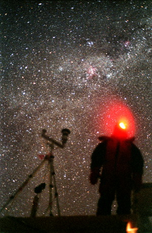 [GlacioShelterDark3.jpg] No wonder astronomy has such a wonderful future up on the high Antarctic plateau: even with a handheld cheesy compact camera you can see more stars than anywhere else in the world, thanks to the high altitude, extreme cold and perfectly stable atmosphere.