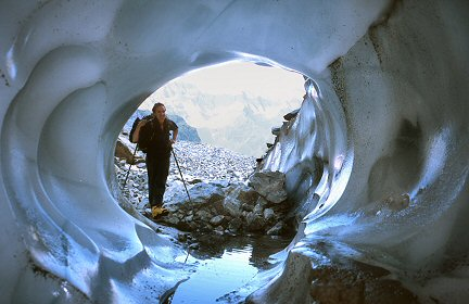 [IceTube.jpg] Example of a water tube inside a glacier, as seen on the Glacier Noir.