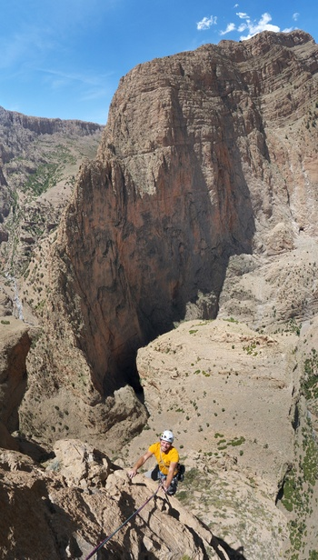 A recent vertical panorama from the page Taghia. Click to see the page.